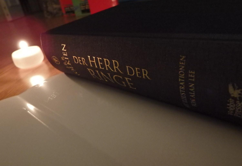 50 X Tolkien Plus 1 J R R Tolkien Der Herr Der Ringe Illustriert Booknapping