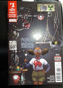 Moon Girl auf Comiccover Marvel Now!