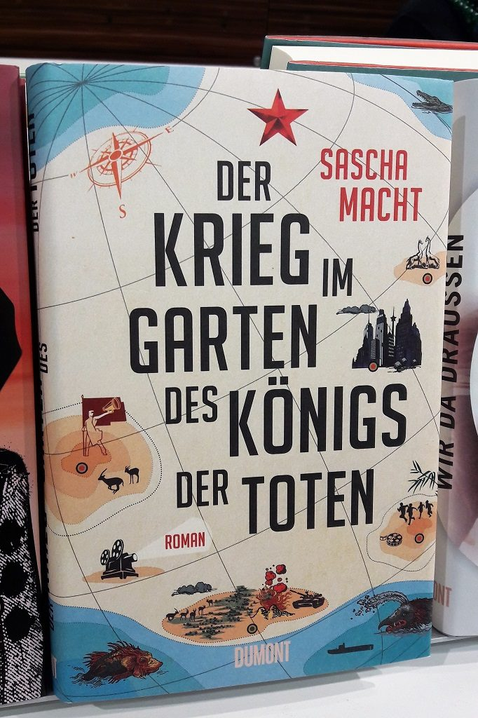Buch von vorne (Der Krieg im Garten des Königs der Toten)
