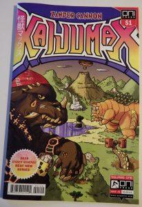 Comiccover zeigt Monster und Ungeheuer
