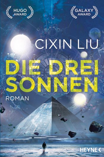 Cover zeigt eine Pyramide und drei Sonnen am Himmel