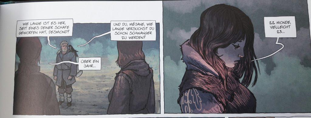 Ausschnitt aus dem Comic, Seite 7