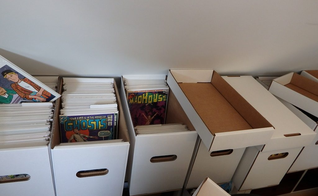 Comic-Shortboxen - noch einiges zu tun