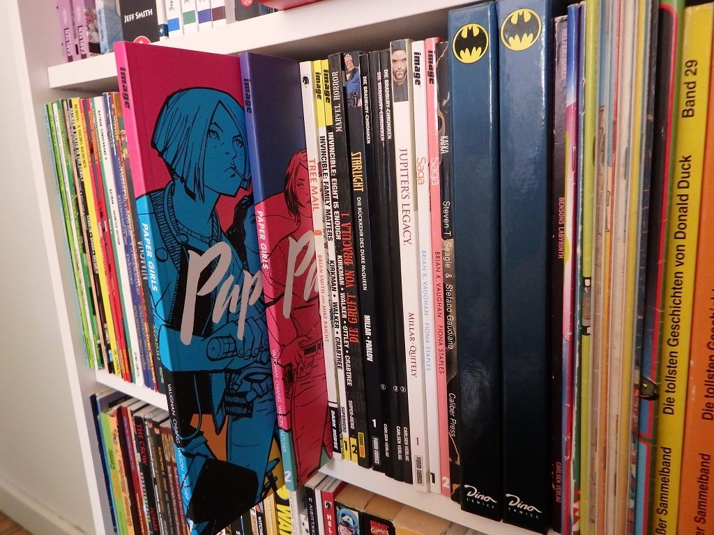 Tradepaperbacks inkl. Paper Girls