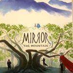 Comiccover in Wasserfarben gezeichnet zeigt einen Baum vor einem zauberhaften Gelände mit Berg und Wolken