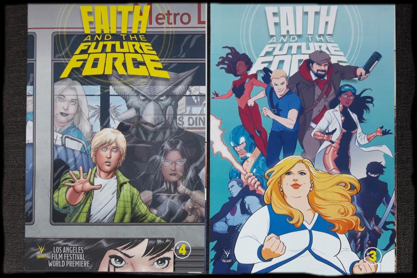 Hefte 3 und 4 der Reihe, die jeweils die HeldInnen zeigen