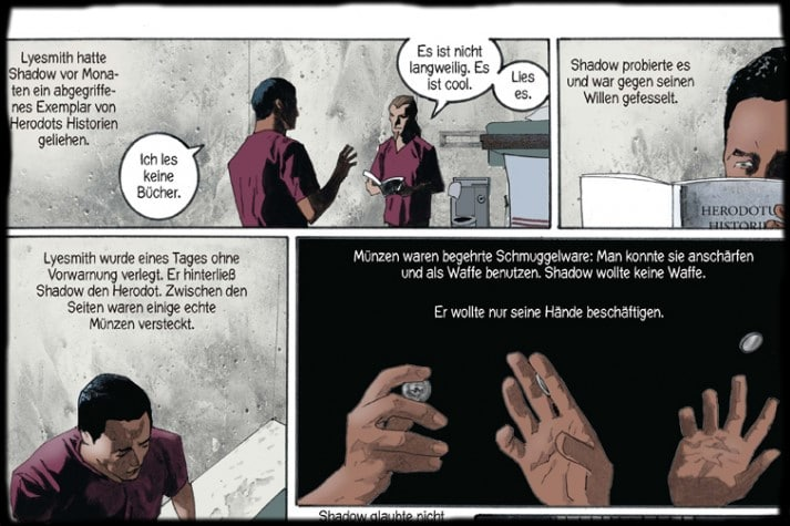 Ausschnitte aus dem Comic