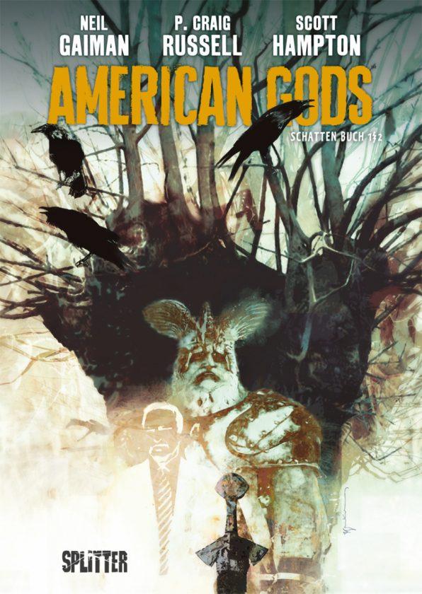 Cover von American Gods 1