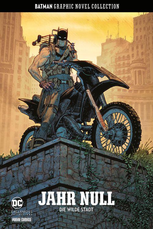 Comiccover, Motorradfahrer auf Hochhaus