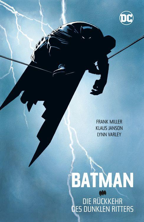 Comiccover - Batman sitzt auf einer Stromleitung