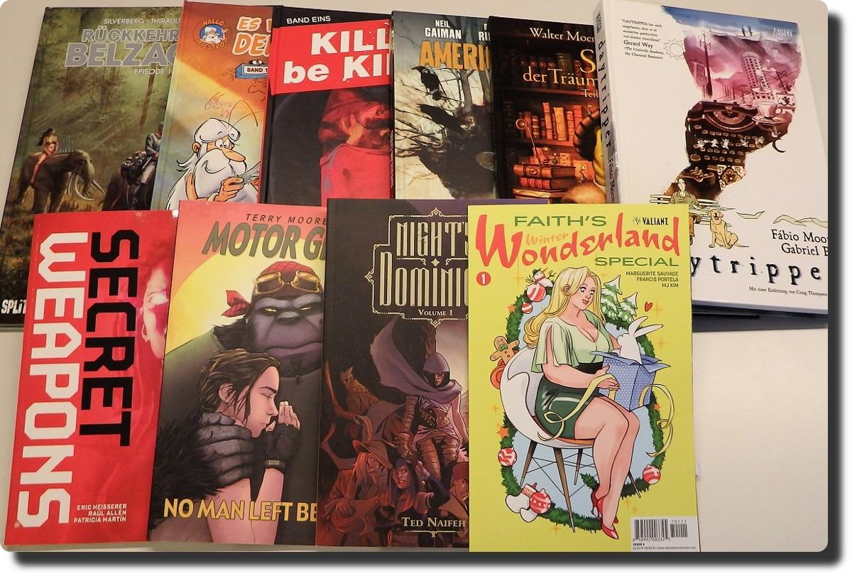 Alle Comics auf einen Blick