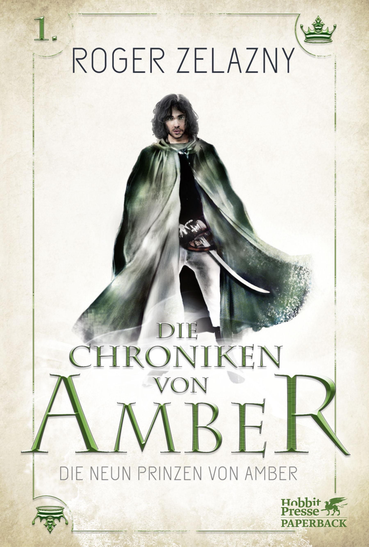 Cover des Romans zeigt einen Mann mit längerem dunklen Haar in einem langen Umhang mit Säbel am Gürtel