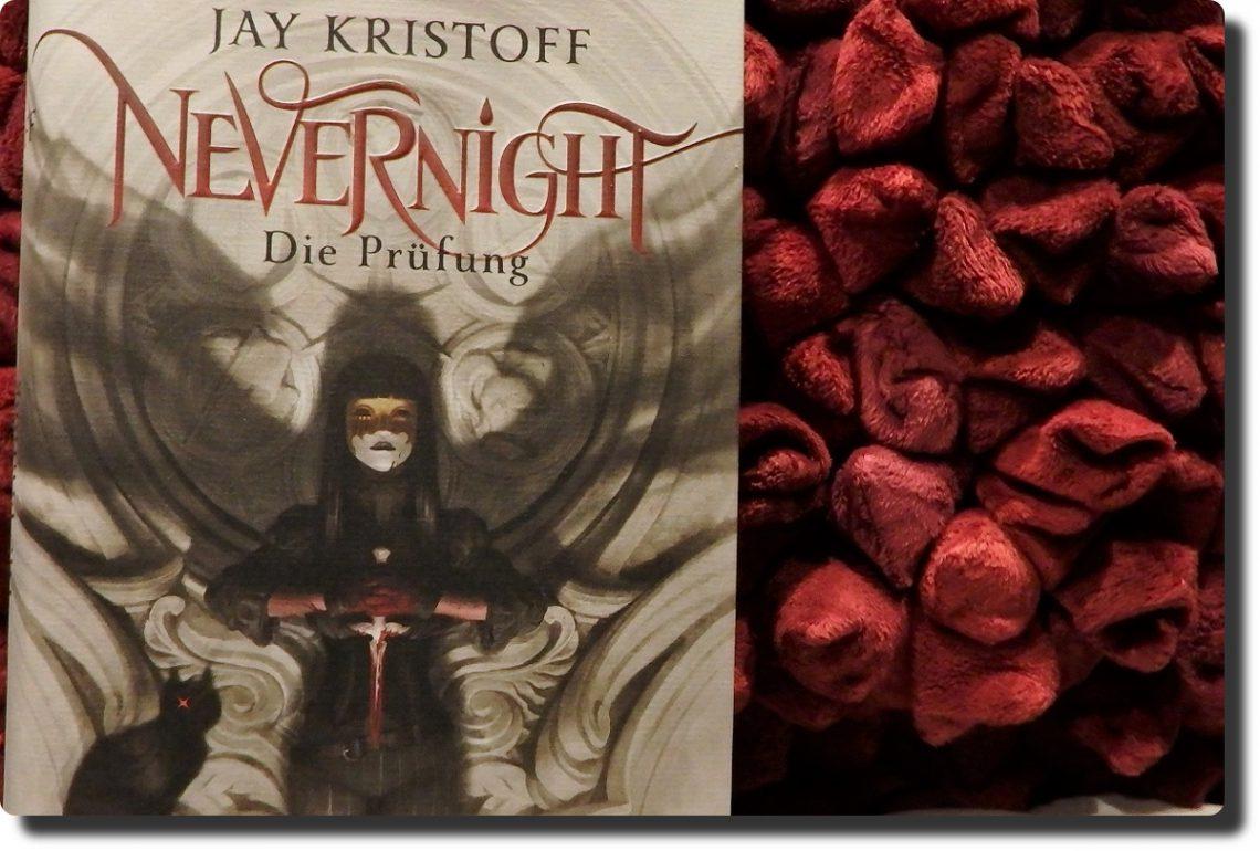 Buch auf einem roten Kissen