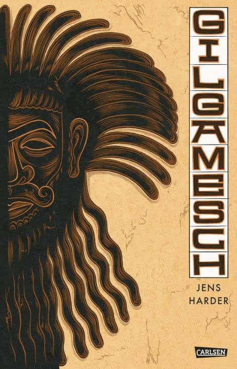 Cover des Comics. Zeigt eine Gesichtshälfte des Endiku, Freund des Gilgamesch