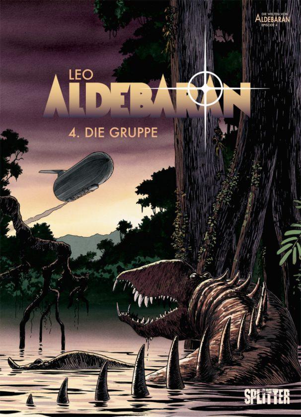 Comiccover von Aldebaran 4 zeigt einen fremden Planeten