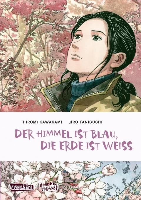Comiccover in Pastelltönen zeigt eine junge Frau