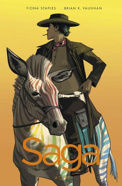 Comiccover Reiter auf Pferd