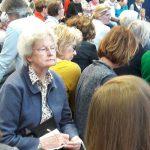 Eifrig zuhören im ARD Forum (druckfrisch)