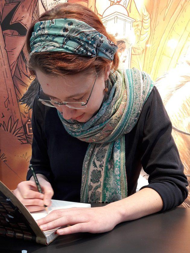 Frauke Berger (Grün, Splitter Verlag)