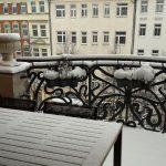 Ciao Leipzig, gut, dass wir einen Balkon hatten