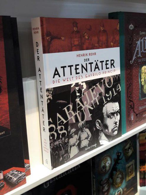 Attentäter - Graphic Novel
