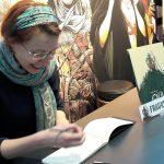 Frauke Berger signiert bei Splitter