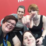 Booknapping (Sandra), Christina (Books'n'Stories), Ariane (Nerd mit Nadel), Christin (Life4Books)