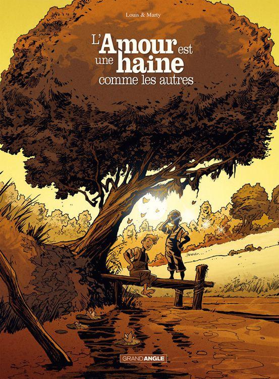 Cover zeigt zwei Jungen unter einem Baum - alles in Brauntönen