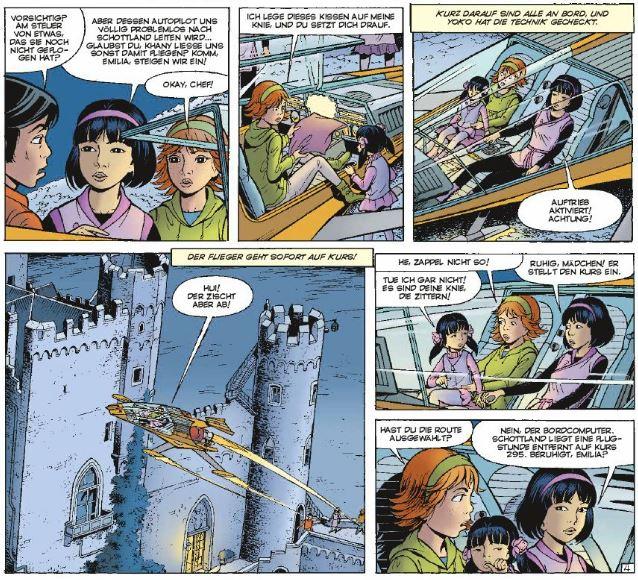 Yoko Tsuno 28 Ausschnitt Seite 6