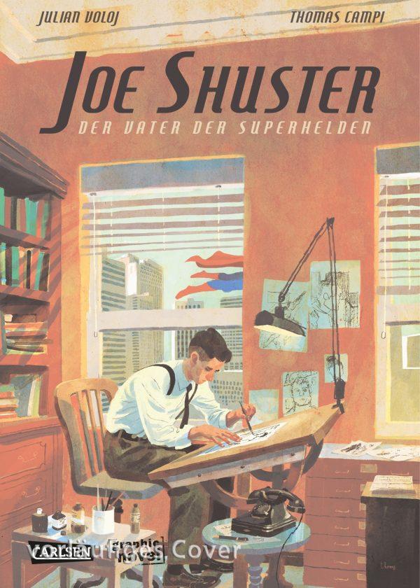 Cover Joe Shuster