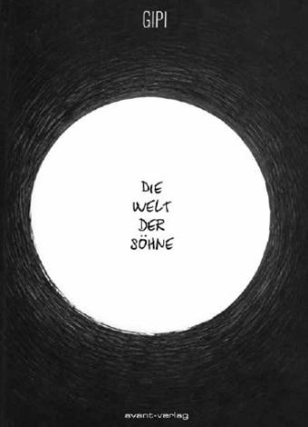 Comiccover zeigt einen weißen Kreis mit dem Titel auf einem schwarzen Cover