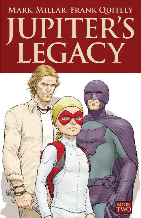 Cover des Comics, zeigt die männlichen Mitglieder der Superheldenfamilie