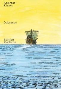 Cover des Comics zeigt ein Schiff auf dem Meer vor einem gelben Horizont