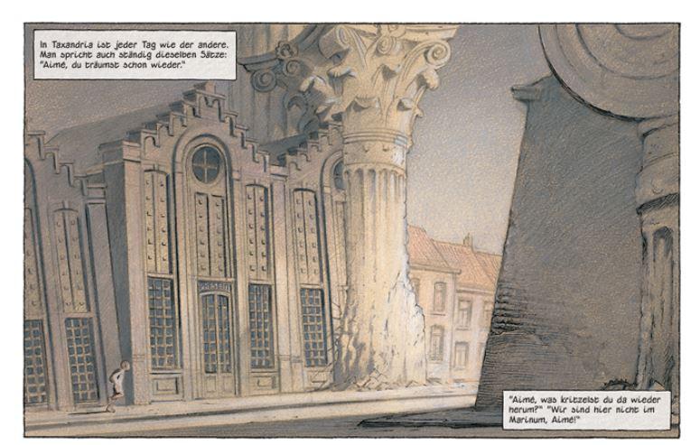 Erinnerung an die Ewige Gegenwart Ausschnitt Seite 9