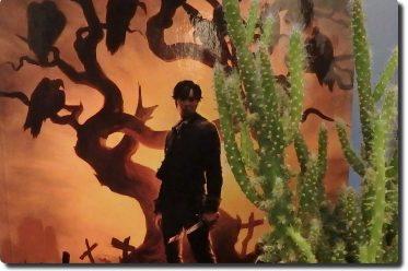 Sonora Band 1 Cover des Comics und ein Kaktus daneben