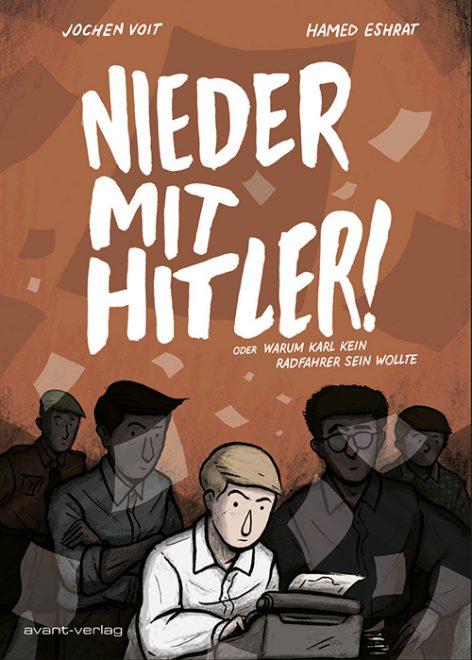 Cover des Comics in braun mit den Protagonisten auf dem Bild