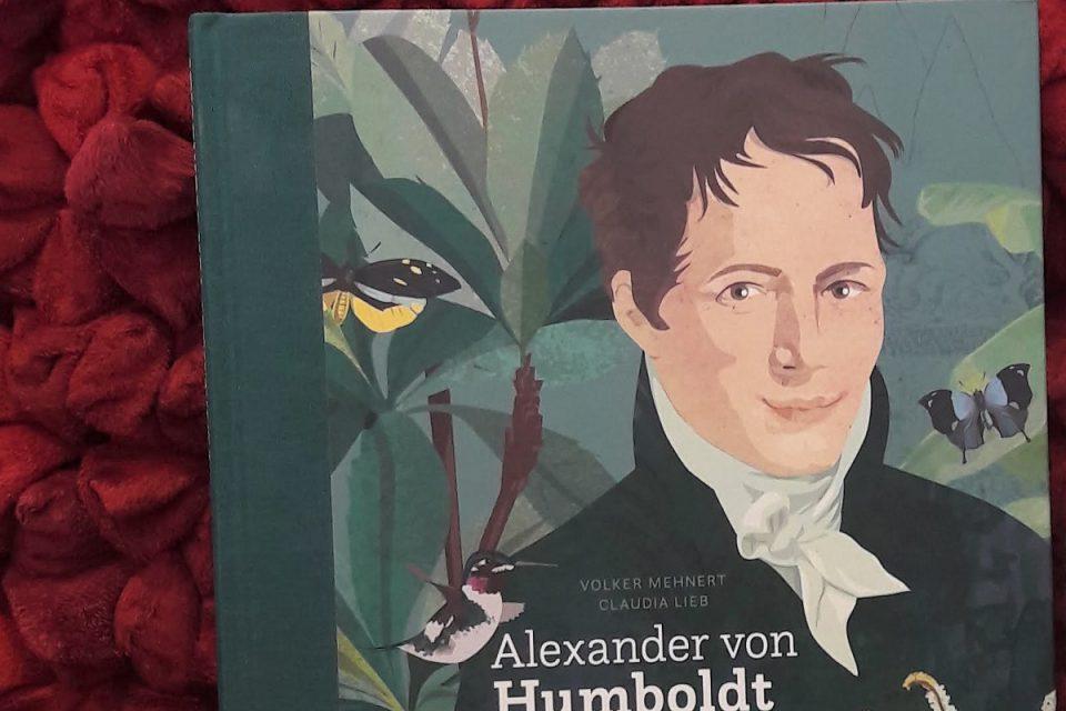 Alexander von Humboldt - Buchcover im Fokus