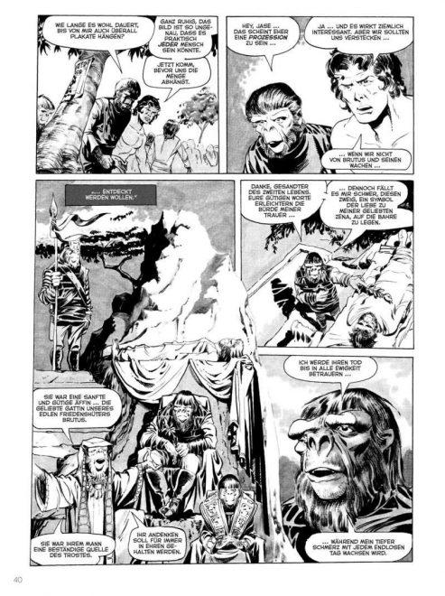 Planet der Affen Archiv 1 Seite 40, Leseprobe