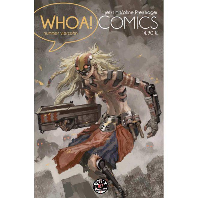 Whoa! Comics 14 Cover von Hannes Radke