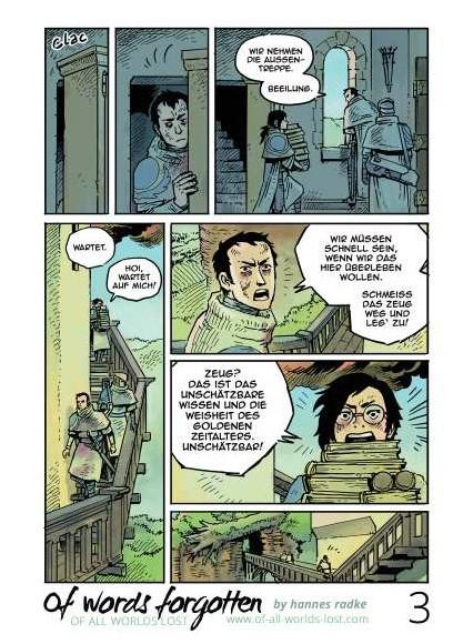 Whoa! Comics 14 Of Words Forgotten von Hannes Radke - Leseprobe