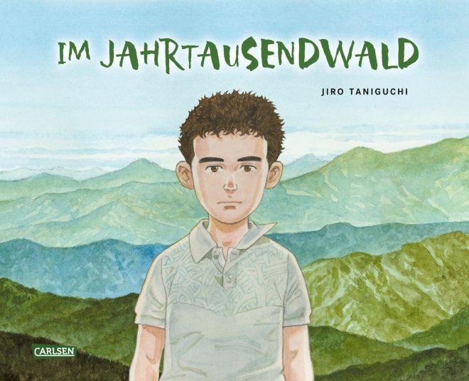 Im Jahrtausendwald von Jiro Taniguchi (Cover)