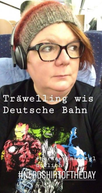 Bahn-Selfie