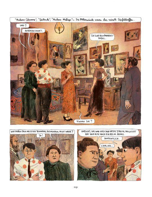 Comicseite, Leseprobe