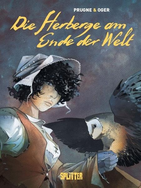 Cover zeigt eine Frau mit Haube und eine Eule