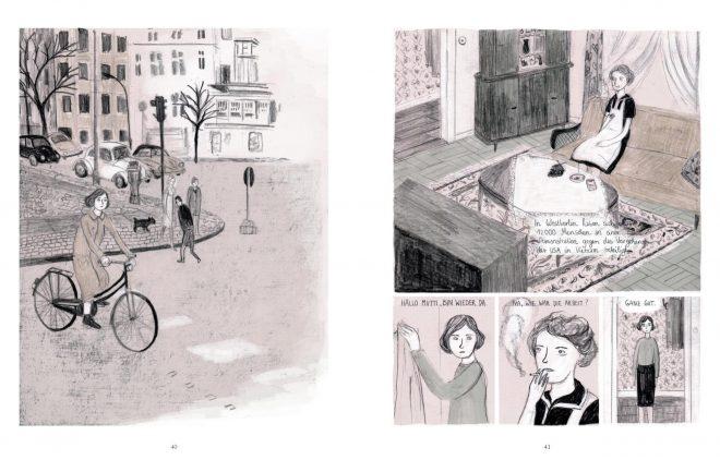 Drei Wege Seiten 40-41 Leseprobe