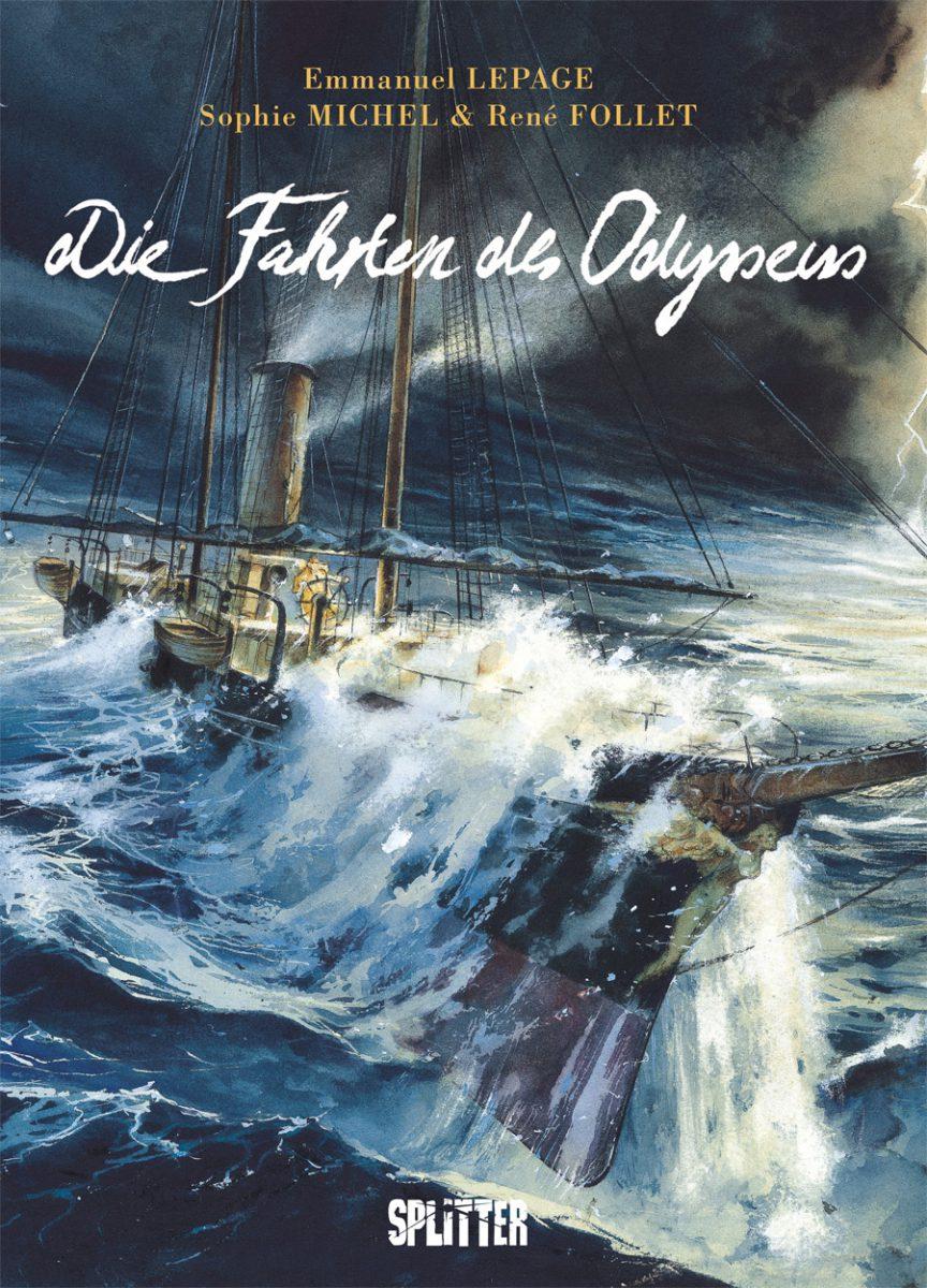 Cover zeigt ein Schiff in aufgebrachtem Meer