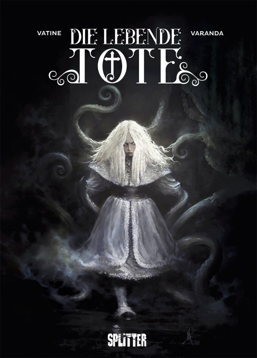 Cover in schwarzweiß