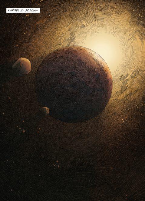 Comicleseprobe zeigt den Mars