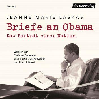 Obama auf einem Sessel auf seinen Beinen Briefe