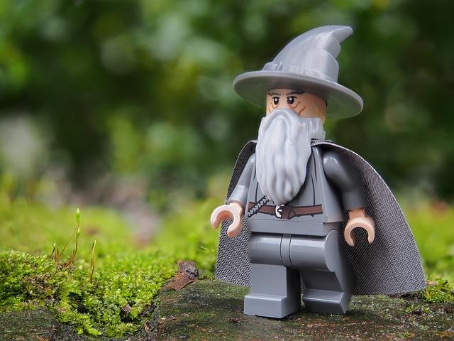 Legofigur Gandalf